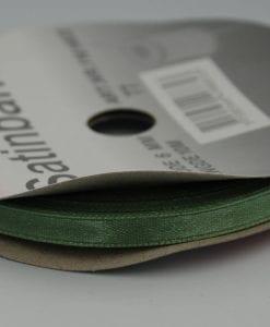 Grön satinband