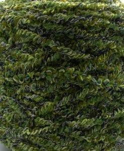 veckgarn grön